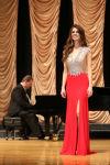 Victoria Valentine competes in Miss Motnana 2014