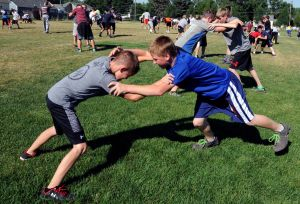 Osos Wrestling Camp is all about the kids