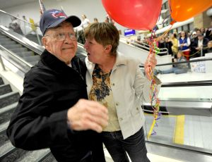 Montana veterans on Honor Flight return to Billings late Monday