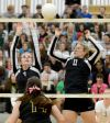 Blockers Jade Harrison and Libby Zorn