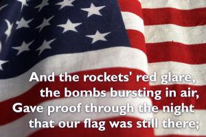 Video slideshow: 'The Star-Spangled Banner'