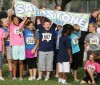 Sandstone Elementary students show their spirit