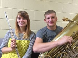 MSUB band's fall concert features tuba, flute soloists