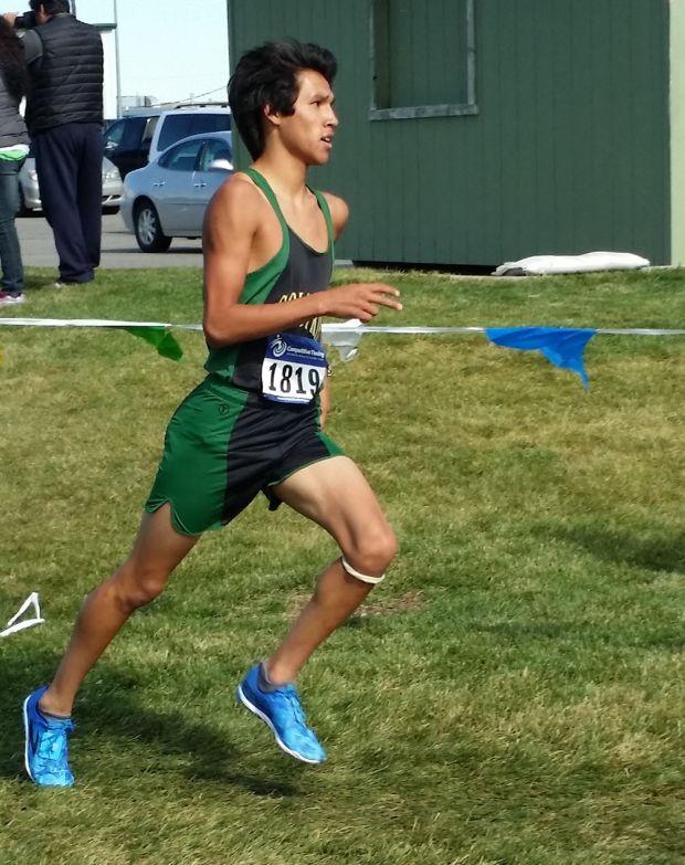 Colstrip's Tyus Mendoza runs to his own beat