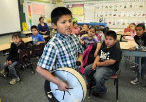 Tribal members work to preserve their language