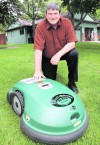 Impressed customer becomes dealer of robot lawn mowers