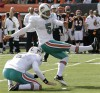 Carpenter on a rare field-goal streak for Dolphins