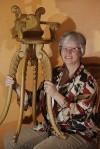 Photographer's infant portrait chair