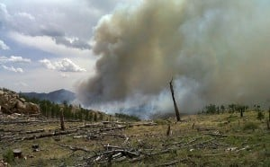 Rain finally hits Cow Camp Fire in southeast Wyoming