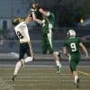 Jacob Stanton of Central intercepts a pass