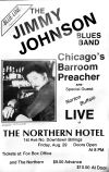 Jimmy Johnson blues poster