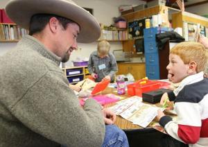 Ag accuracy: Young Canyon Creek students learn where lunch comes from