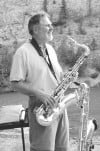 Sax man Rehmanncelebrates CD release  at Walkers on Sunday