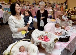 Realistic dolls go for big money at Billings doll show