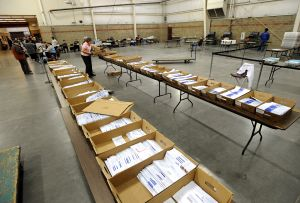 Half of Yellowstone County's absentee ballots should be in this week