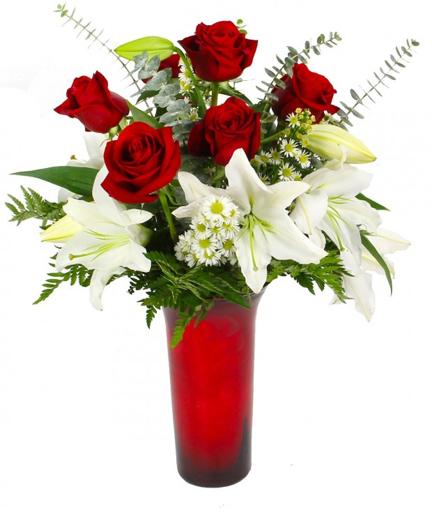 Floral arrangements are one way to make your Valentine feel special