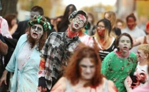 Zombies invade downtown Billings