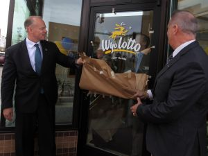 Sales of Wyoming Lottery tickets kick off