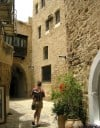 A narrow alley in Old Jaffa