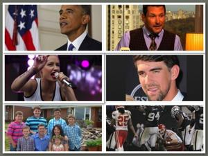 Today's six-pack: Obama's fight, Phelps' girlfriend and a Disney tragedy
