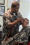 Transformations barbershop owner Carmine Robinson