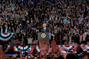 Obama powers to re-election despite weak economy