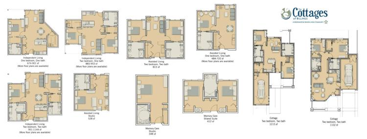 For Those Looking To Enjoy More Luxury In Their Retirement We Also Offer Two Bedroom Senior Living Cottages You Can View Our Floor Plans Below