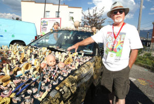 Collection of art vehicles sparks imagination at Butte festival