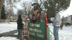 Christmas Wreath Lane celebrates 50 years