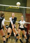 Skyview volleyball stays unbeaten in Eastern AA with sweep of West