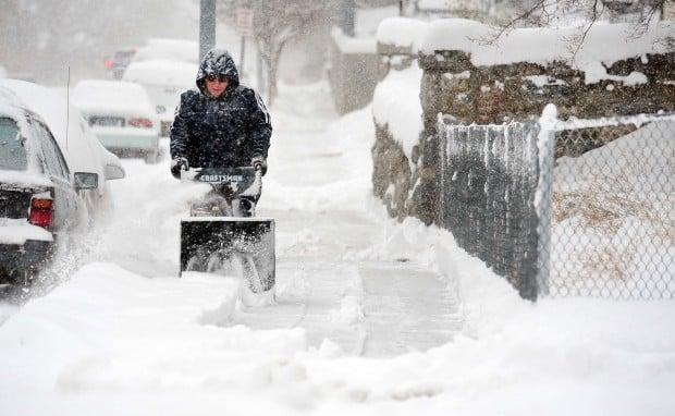 Snow Blower 24 >> Winter storm rolling into Billings region bringing snow, wind | Billings News | billingsgazette.com