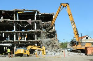 This time, the Parmly Billings Library is coming down for good