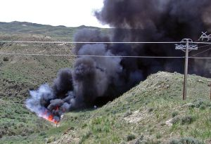 2014 already a nasty year for Wyoming oil spills