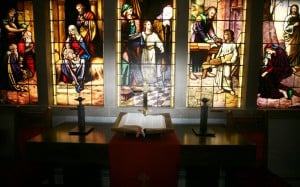 Stained-glass windows inspire church faithful