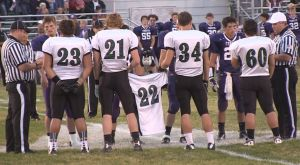 Tears for 22: It wasn't just another Friday night for Colstrip after death of teammate