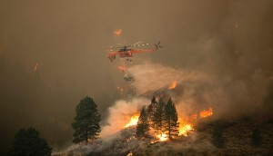 Wild fires in Idaho, Montana and Wyoming