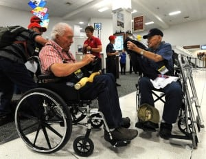 Veterans load up for whirlwind tour of Washington, D.C.