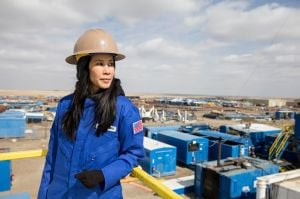CNN's Ling documents women seizing oil patch opportunities