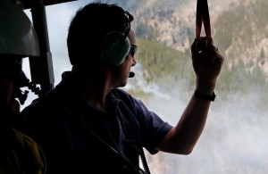 Governor tours Rock Creek fire