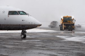 Snow removal a science at Billings airport; no travel snags reported