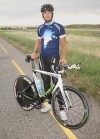 Cyclist rides 7,000 miles to raise awareness of autism