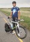 Adam Biel PanAmerican biker