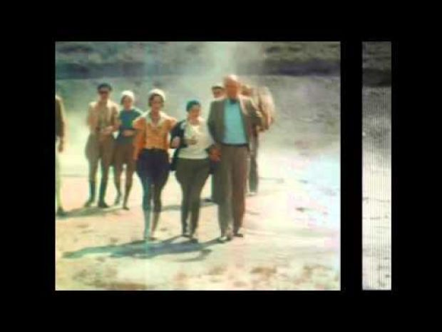 1930s color film of Yellowstone being preserved