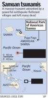 Samoan tsunamis