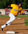 Ronald Bueno rounds third