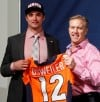 Osweiler eager to get to work with Broncos, Manning