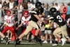 West quarterback Ryan Gallogly hands off