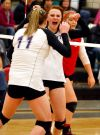 Forsyth's Ruby Kallenbach and Kaylee Zard