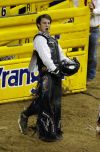 Erickson earns first go-round buckle
