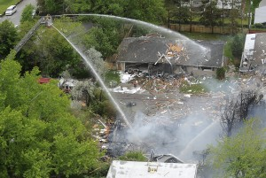No injuries, no one missing after gas explosion destroys Billings home